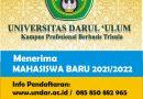 Penerimaan Mahasiswa Baru 2021 / 2022