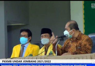 Prof Dr Ir Suprapto DEA Mengapresiasi Positif, Beri Motivasi Mahasiswa Universitas Darul Ulum Jombang